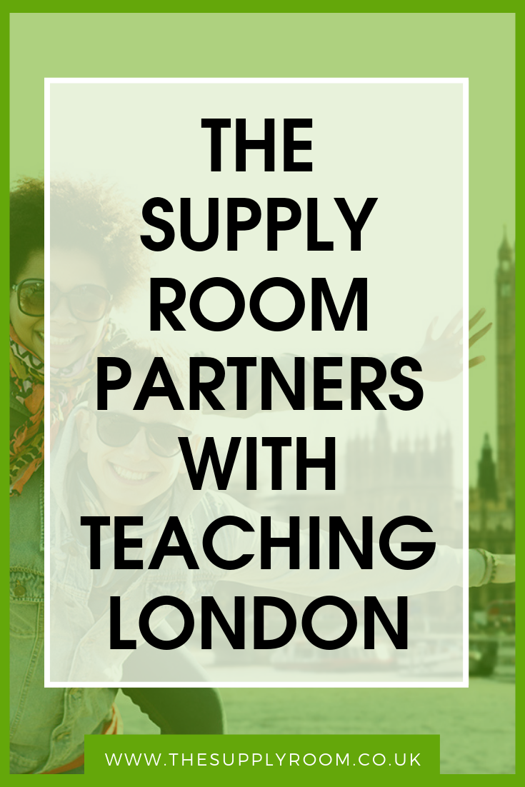 Teacher Training now available through The Supply Room Recruitment Agency UK London