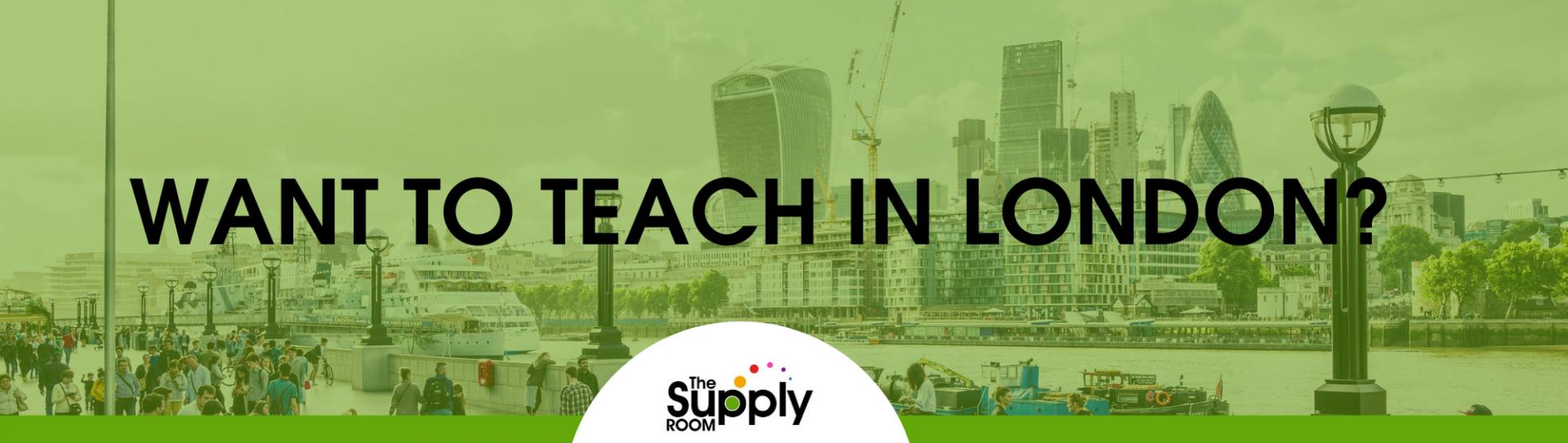 Teaching Vacancies in London