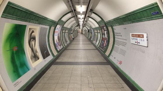 Bakerloo Underground Tube Station
