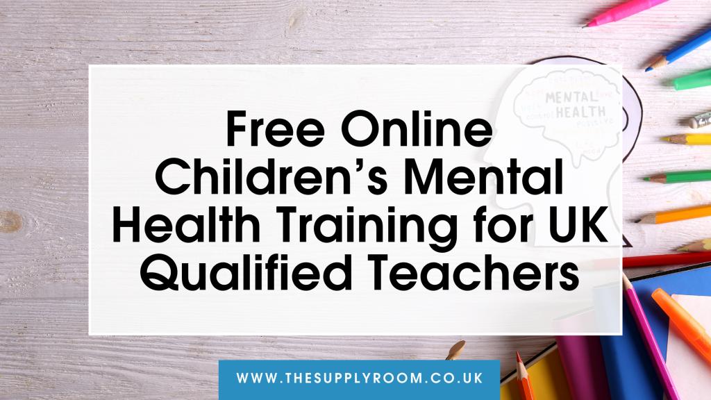 children's mental health training